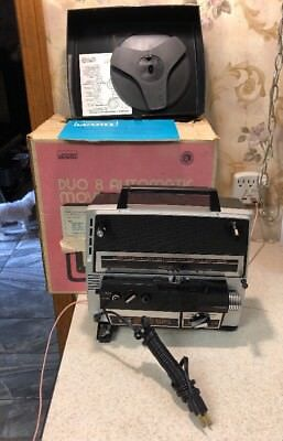 Montgomery Ward Model 810 Duo Eight: Super 8 and  8 mm Movie Projector Vintage