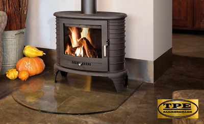 KOZA K8 - Free standing Cast Iron Stove Wood Burner Fireplace 9kw (5-11 kW)