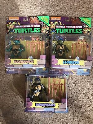 Teenage Mutant Ninja Hero Turtles Retro Figures 1988 Classic Collection Reissue