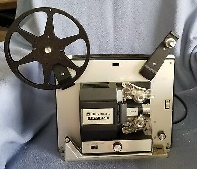 Vintage Bell & Howell ~ 461A AutoLoad Super8 & 8mm Film Projector