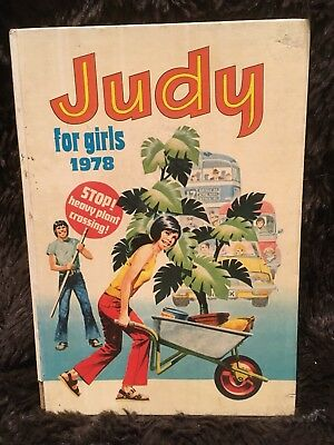 Judy for Girls Annual 1978