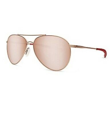 Piper Costa Del Mar Gold With Pink mirror polarized 580 Glass