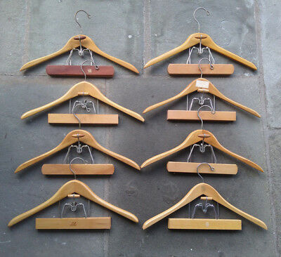 Lot of (8) Vintage Hangers (SEVEN are SETWELL Brand)