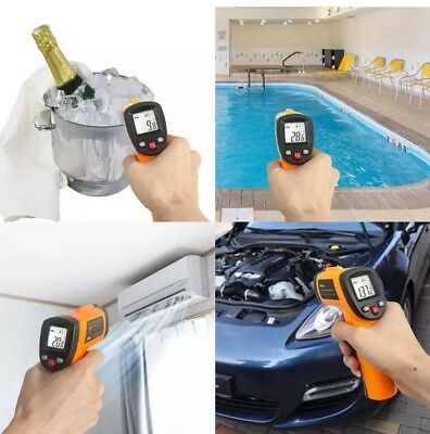 IR Infrared Digital Temperature Thermometer (-50 °C To 550°C) Helect Non-Contact