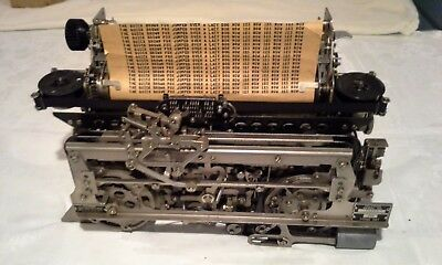 teletype model 28D typing unit,  mfg Teletype Corporation
