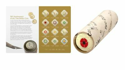 2018 $2 Twelve Coin Uncirculated Folder Set + 2018 Remembrance Day Coin Roll