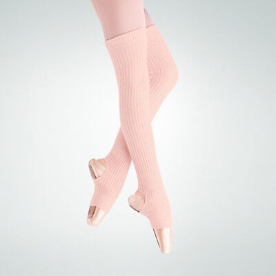 "New 36"" Stirrup Leg Warmers Theatrical Pink 94 Body Wrappers"