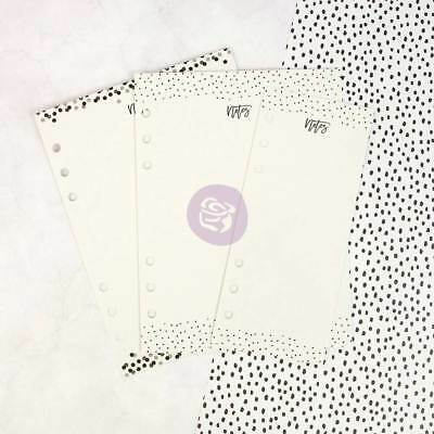 PRIMA MARKETING My Prima Planner Embellishments - Dry Erase Boards - Black N Whi