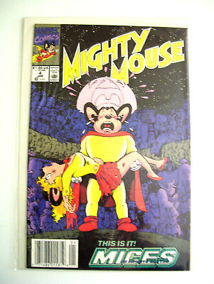 NEW IN PKG Mighty Mouse Vol 1 #4 Jan 1991 Comic Book