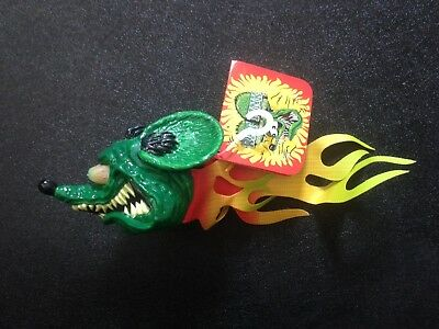 Ed Big Daddy Roth Rat Fink Antenna Topper - NWT