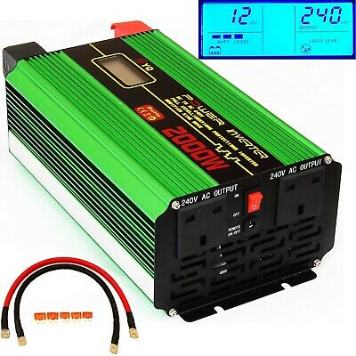 4000W(Surge) 2000W DC12V TO AC240V INTELLIGENT POWER INVERTER FOR MICROWAVE