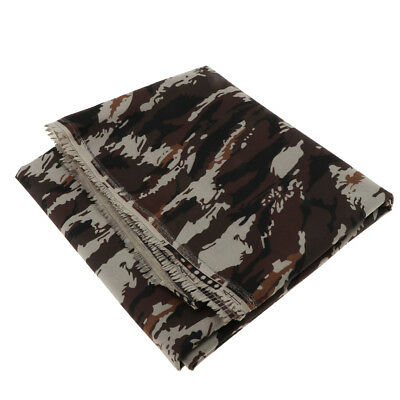 2M Heavy Duty Camo Printed Waterproof Outdoor Canvas Tent Fabric Cover 7#