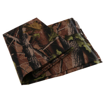 2M Heavy Duty Camo Printed Waterproof Outdoor Canvas Tent Fabric Cover 2#