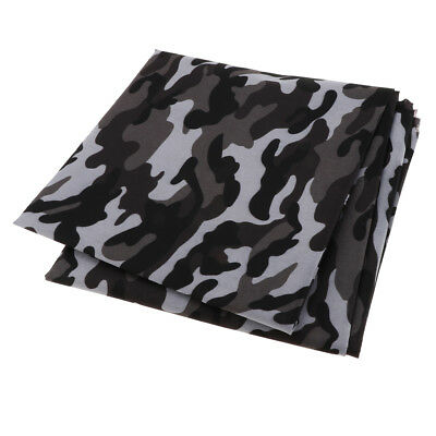 1M Heavy Duty Camo Printed Waterproof Outdoor Canvas Tent Fabric Cover 4#