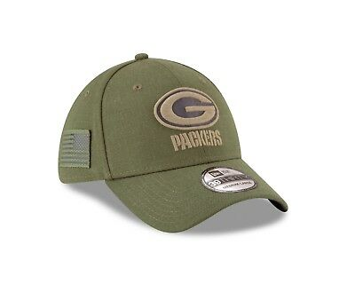 c38b50d7 GREEN BAY PACKERS New Era 39THIRTY NFL Sideline Men's Fitted Cap Hat ...