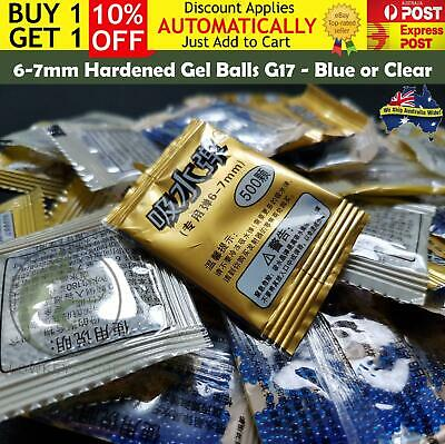 6mm 20,000 Pro Grade Hardened Gel Balls Ammo Toy Gel Blaster Glock 17 G17 6-7mm