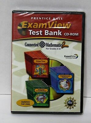 PRENTICE HALL PHYSICAL Science 8th GRADE 8 CD-ROM TESTS With