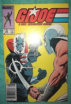 G.I. Joe: A Real American Hero #38 (Marvel - 1985) 2nd Printing ~ VF+ Condition