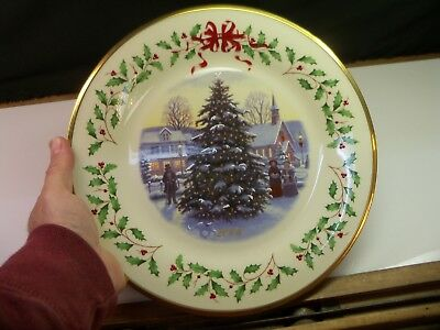 Lenox 2006 Annual Holiday Collector Christmas Plate 16th Annual Item 3967