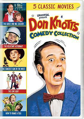 Don Knotts 5-Movie Collection Box Set Joan Staley Disc 3 DVD 0191329047354 NEW