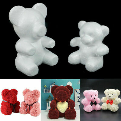 15 cm 20 cm Size Embryo Foam Bear Mold For Handmade Crafts DIY Christmas Gift
