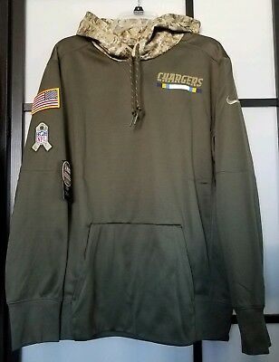 2a6c95334 ... where can i buy mens los angeles chargers nike olive salute to service  pullover hoodie size