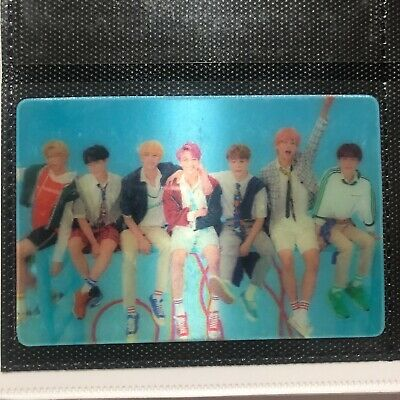 BTS Love Yourself Answer Lenticular Photocard Jungkook Jimin Jin RM V Suga Jhope