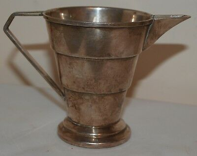 Art Deco Silver Plated Milk Jug - Sheffield England