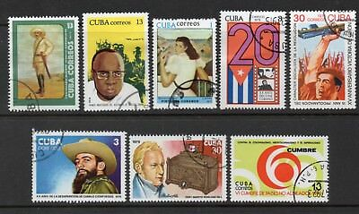 Caribbean: A Very Nice Selection of 8-1970's Used Issues With (Reduced Post)