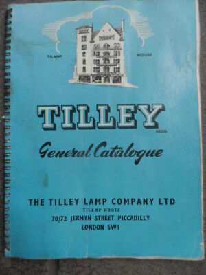 Tilley-Lamp-Heater-Trackwork Lamp-Hanging Lamp--Original Catalogue--Nice!!!