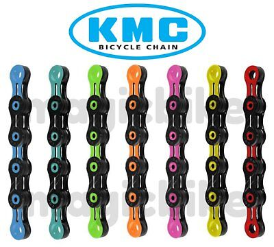 KMC X11 SL DLC11 DLC 11 Speed MTB/Road Chain for Trekking Multi Colors NIB