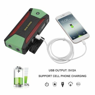 82800mAh Portable Car Jump Starter Battery Booster with LED USB Power Bank ✔