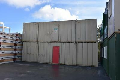 32′ x 10' Portable Building - Anti-Vandal Open Plan Offices (Two Available)