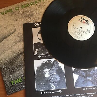 Type O Negative The Origin Of The Feces OG Vinyl LP 1992 carnivore life of agony