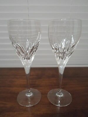 "2 Marquis by Waterford Summer Breeze 9 1/2"" Wine Glasses"