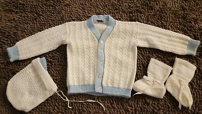 Vintage*Baby Boy Sweater Set*Size 6-12mos