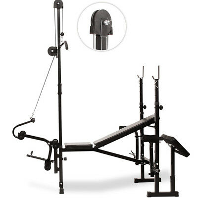 Banc De Musculation Fitness Multi Gym Professionnel Réglable Eur