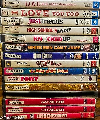 DVD Bulk Lot Choose Your Titles/Genres from drop down list