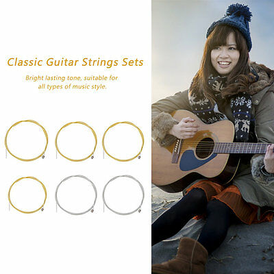 NEW 6pcs Metal Steel Strings for Acoustic Guitar E A D G h(b) and e string 5SET