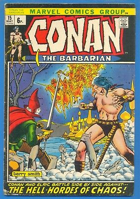 CONAN THE BARBARIAN.2 ISSUES.Nos.15 & 22.1972/3.MARVEL COMICS