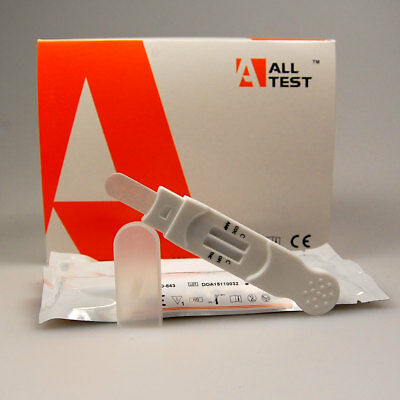 ALLTEST 6 drug ORAL / SALIVA DRUG TEST / 1 TESTING KIT - 6 DRUGS TESTED 863PCP