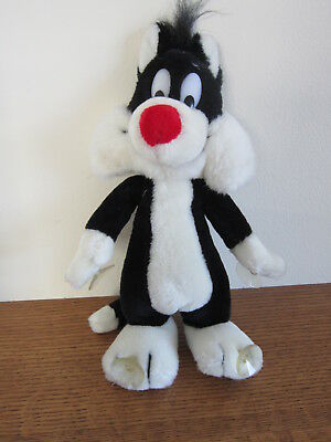 Sylvester plush toy window hanger stuffed Warner Bros Mighty Star 1988