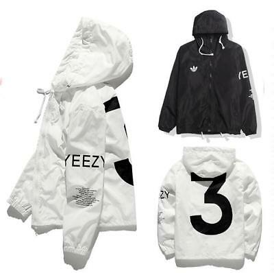 Limited Edition YEEZUS& Windbreaker Yeezy sports sunscreen skin Windbreaker coat