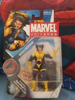 "Wolverine 3.75"" Action Figure Teeth Series 2 #2 Hasbro Marvel Universe 2011"