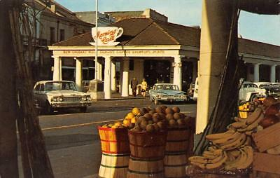 NEW ORLEANS, LA Louisiana  MORNING CALL~Coffee Shop  50's CARS  Chrome Postcard