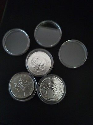 coin capsule for 1 oz bullion silver gold coins free postage
