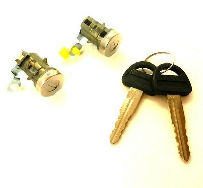 Suzuki Vitara 1988-1995 Front Door Lock Barrel Set With Keys Left + Right