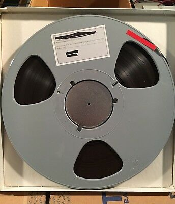 """REELS 10.5"""" x 1/4"""" (Plastic Reel - with Scotch or Memorex 1/4 used tape)"""