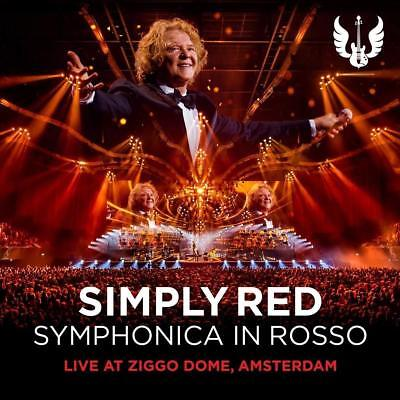 Simply Red Symphonica in Rossa ( Limited  CD & DVD set / UK Deluxe Edition )