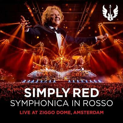 Simply Red - Symphonica in Rosso - NEW CD & DVD UK Limited Deluxe Edition set